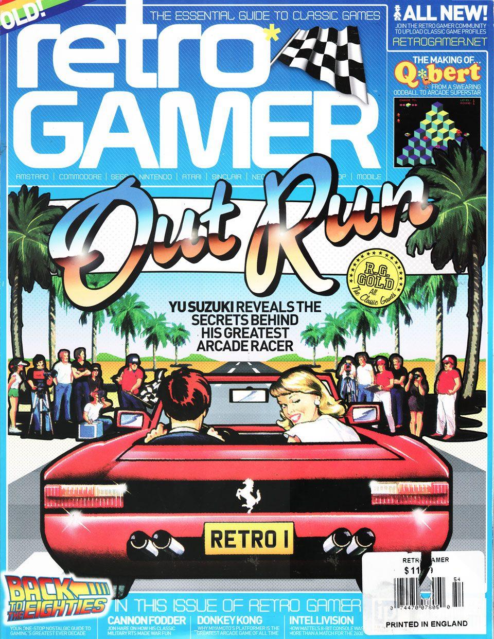 Retro Gamer magazine OutRun cover http//www