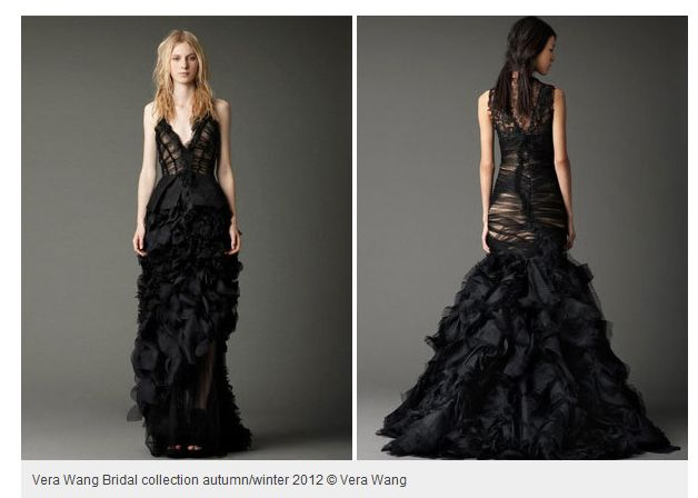 Vera wang black wedding dresses vera wangs new black bridal vera wang black wedding dresses vera wangs new black bridal collection junglespirit Images