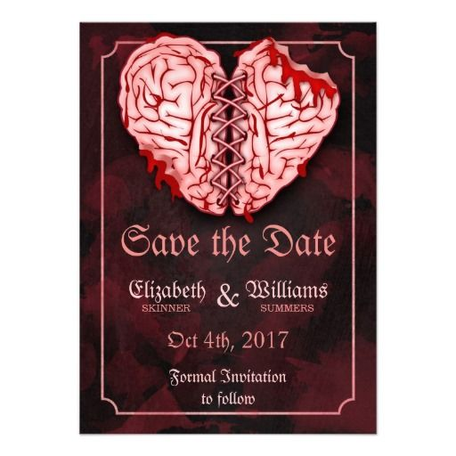 ReviewZombie Brains Wedding Save the Date Cardonline after you search a lot for where to buy