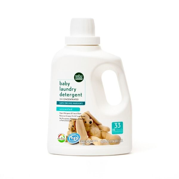 365 Unscented Baby Liquid Laundry Detergent From Whole Foods