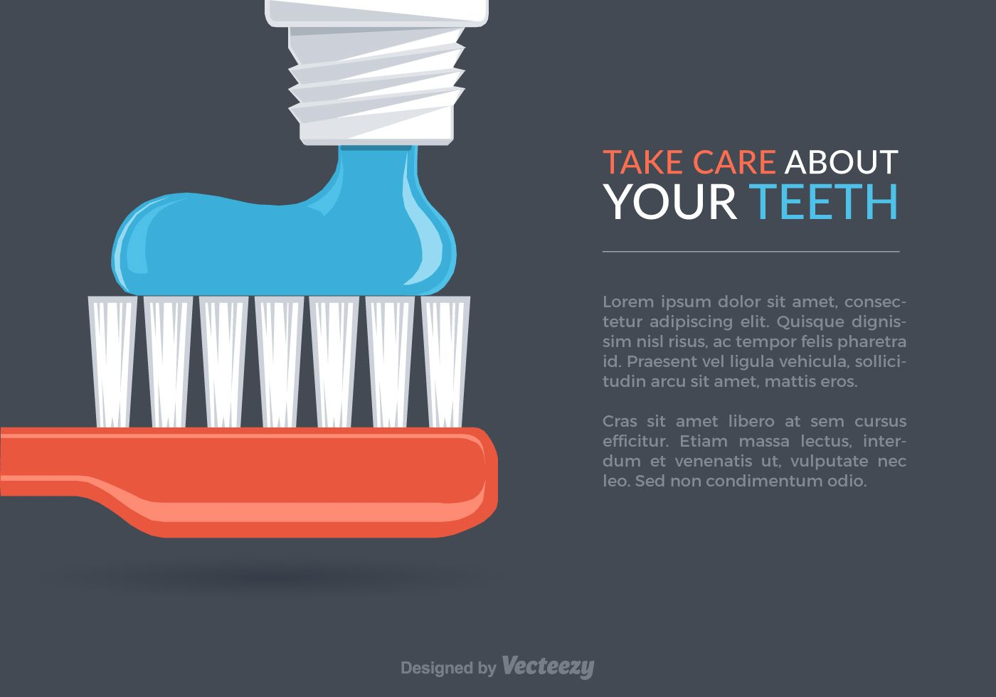 Free Dental Care Vector Background Free Dental Care Dental