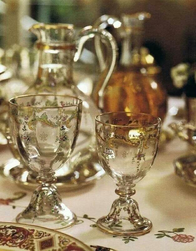 Glassware  #SetTheTable