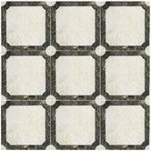 Found it at Wayfair - Martius 17.75'' x 17.75'' Ceramic Field Tile in Ivory/Grey