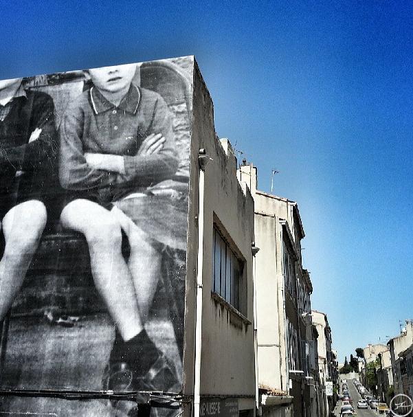 The imaginative street art of JR