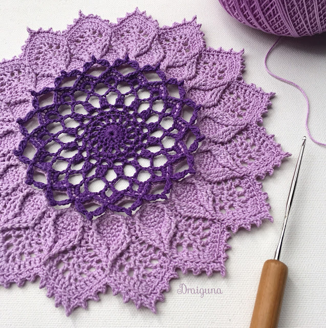Arcanoweave Part 2 With Images Doily Patterns Free