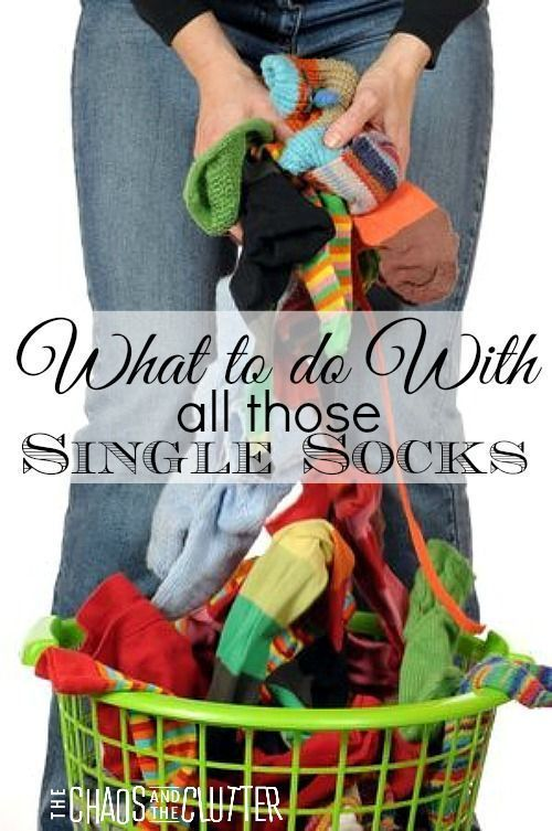 What to do With Old Socks #geniusmomtricks