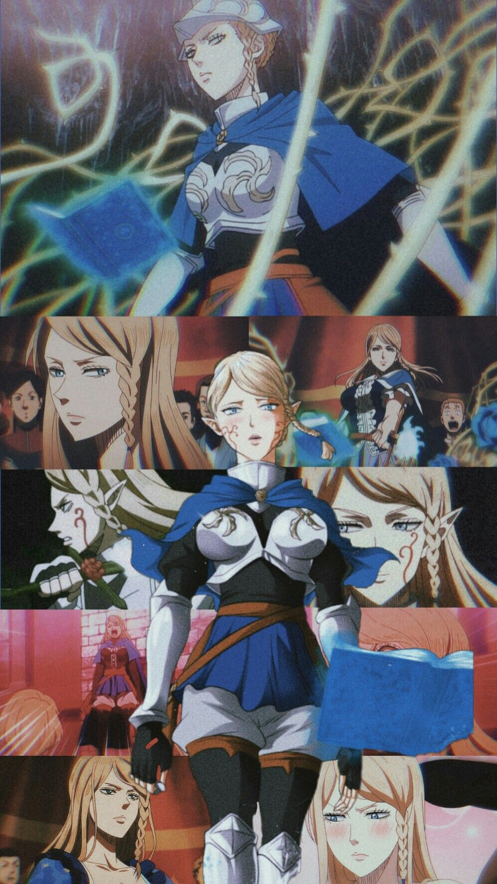 Charlotte Roselei Icon Wallpaper Black Clover Anime Engracado Anime Desenhos