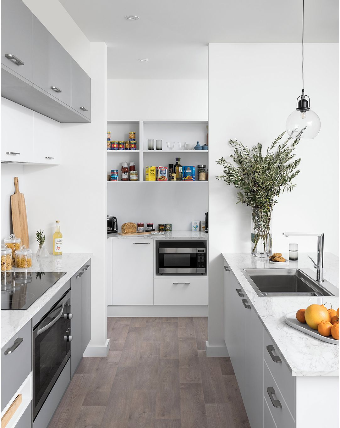 Kitchen Designs With Island And Walk In Pantry