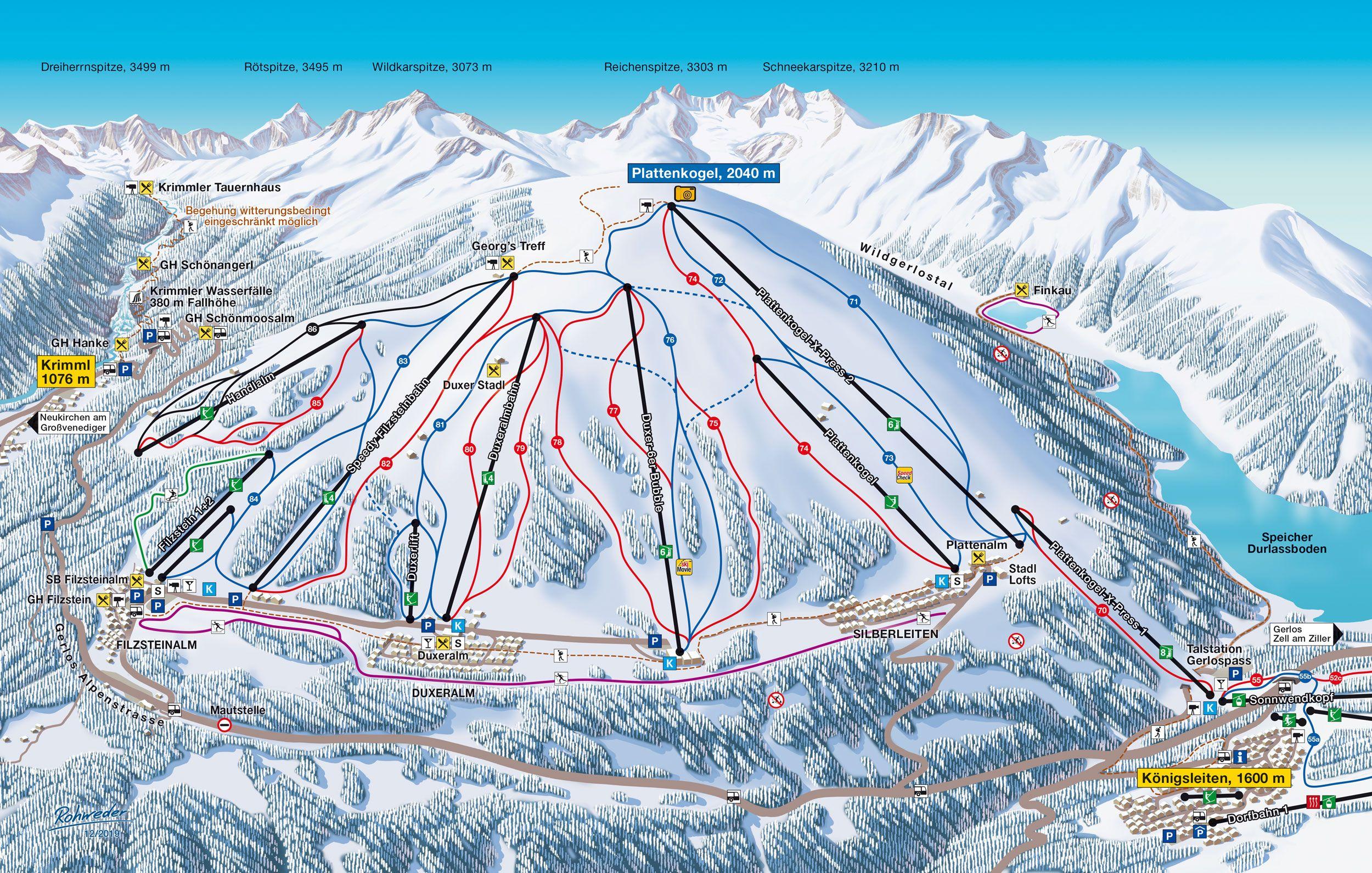Der Panorama Maler Arne Rohweder Hat Für Das Skigebiet