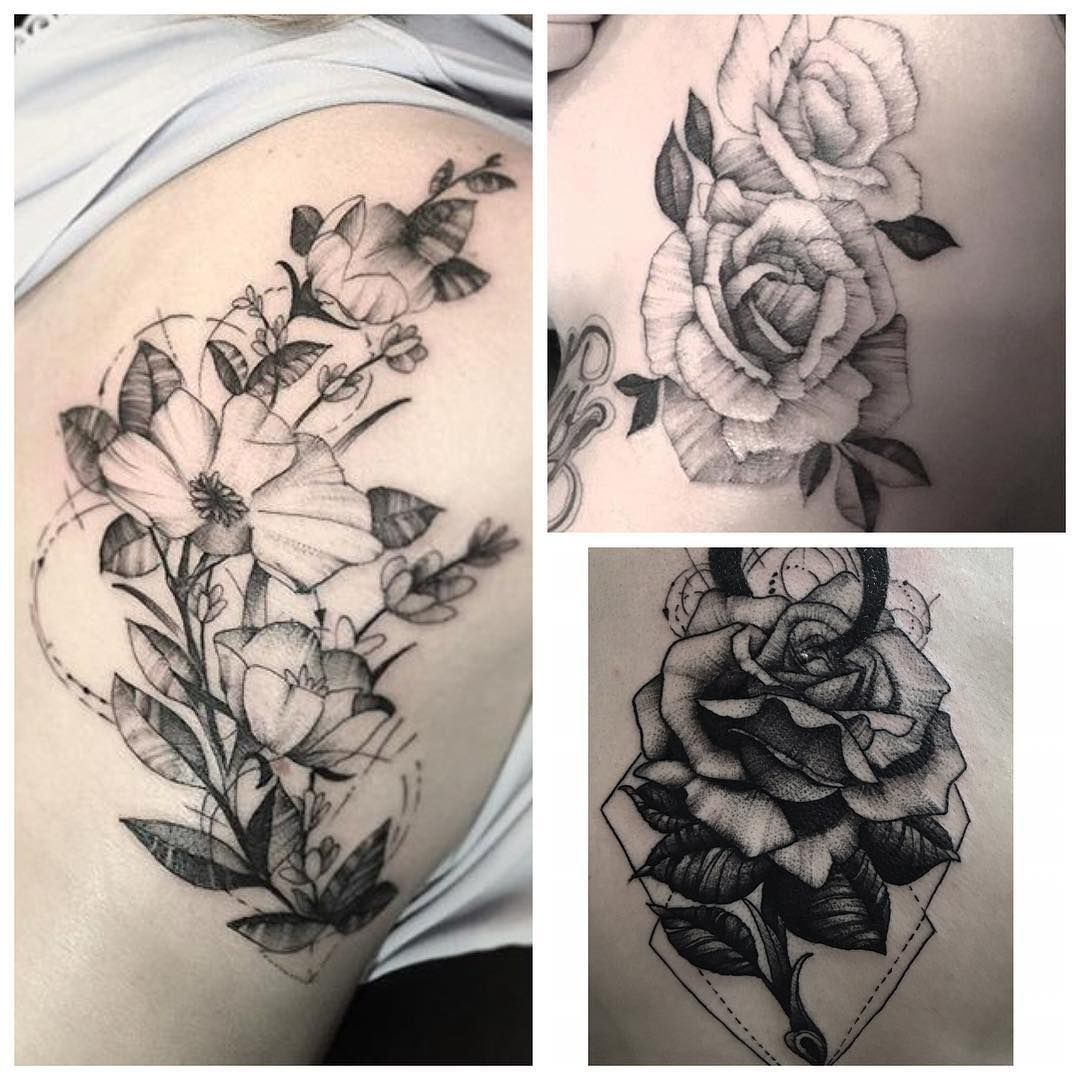 33+ Stunning Types of flower tattoos and meanings image ideas