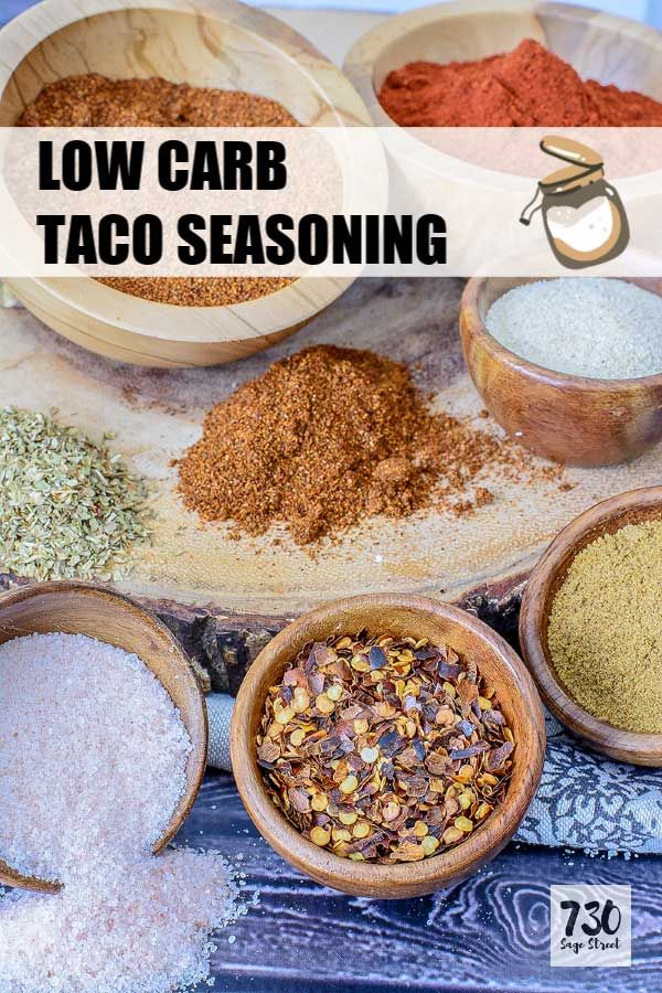 Taco Seasoning Recipe for Low Carb, Keto or any Mexican Recipe #maketacoseasoning