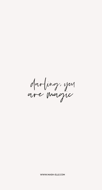 Darling, You Are Magic