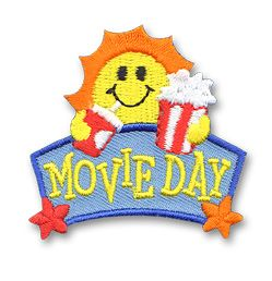 Movie Day patch snappylogos.com
