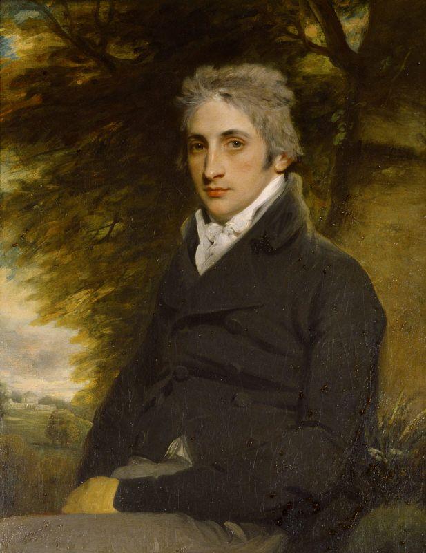 Portrait of the 1st Marquess of Bristol by Hoppner. ©NTPL/Angelo Hornak