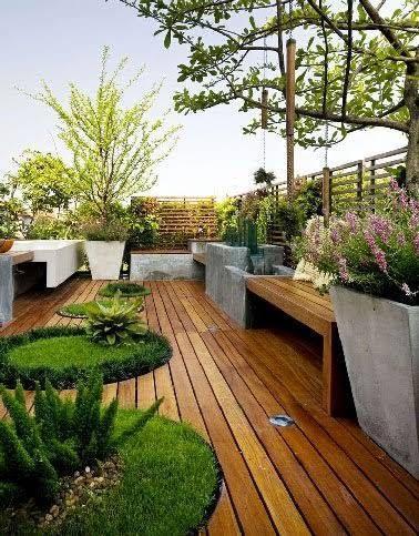 Du Bois Pour 6 Terrasses Au Charme Fou Jardins Sur Les Toits