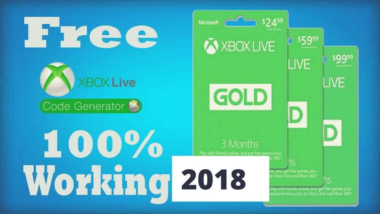 2018 Xbox Gift Card Get Free Xbox Codes Xbox Live Codes Xbox
