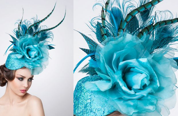 Kentucky Derby Hats | Kentucky Derby Feather Hat Style : Arturo Rios Designs - The Feather ...