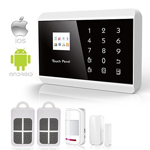 Ios Android App Gsmpstn Touch Pad Home Alarm Security System You Can Get Additional Details At T Security Gadgets Best Home Security System Security System