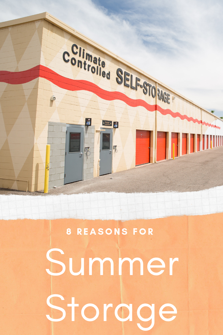 8 Reasons For Summer Storage Moving Insider Self Storage Summer Cleaning Storage