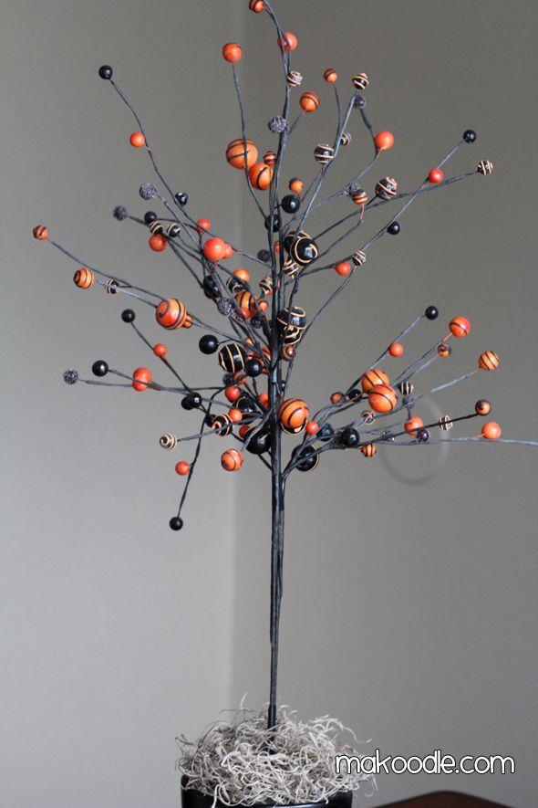 Diy Halloween Tree Tutorial Couldn T Find Any Halloween Picks So I