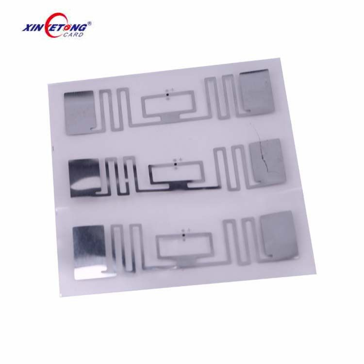 Iso18000 6c Impinj Uhf Rfid Tags Label With Printing Service Rfid Book Labels Nfc Sticker