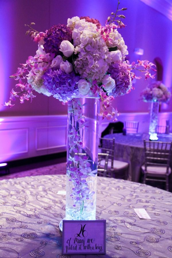 Lovely Lavender and Cream Wedding in Florida | Cream wedding ...