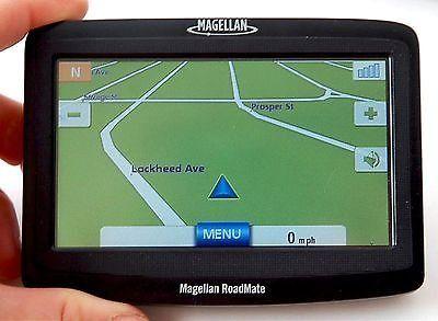 nice Magellan RoadMate 1412 Car Portable GPS Navigator System 4.3 US Canada PR Maps - For Sale