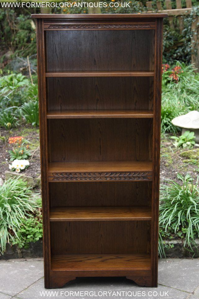 Preloved Second Hand Oak Bookcases For Sale Household Furniture