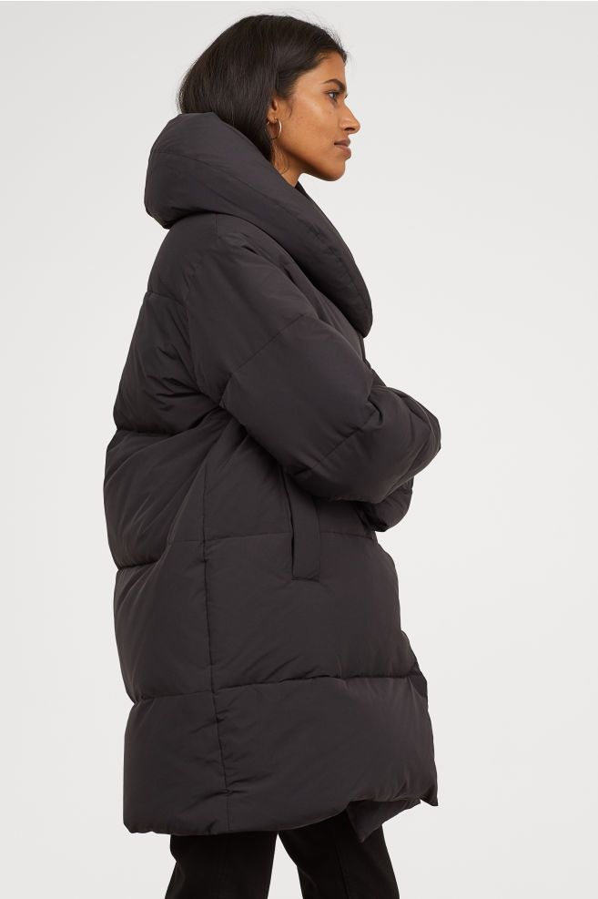 128b26e065 Long Down Jacket in 2019 | Coats | Jackets, Winter jackets, Winter ...