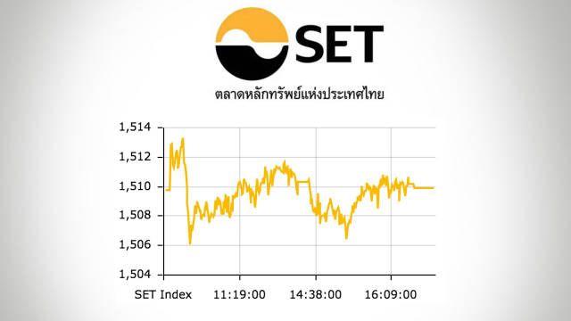 หนไทยปดตลาดบวก 0.14 จด ดชนอยท 1509.92 จด - ไทยรฐ