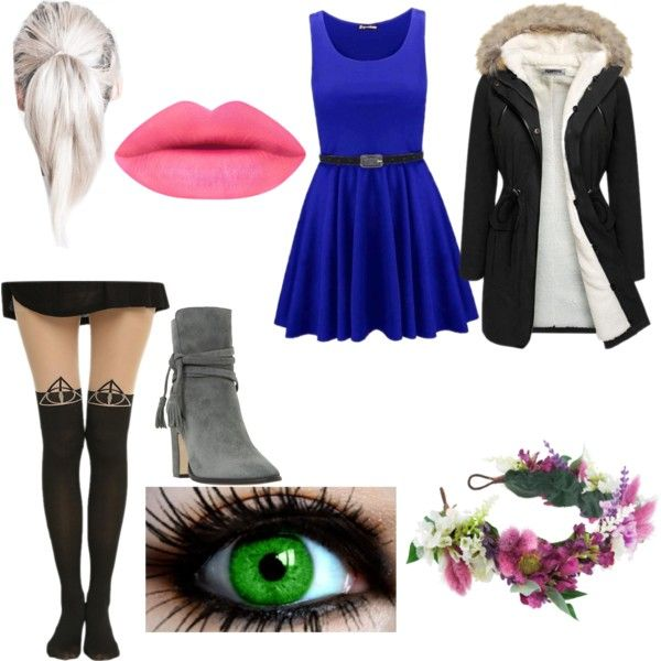 Luna  Everyday Set #5 by platinumsilver on Polyvore featuring beauty, Rock 'N Rose and Dune