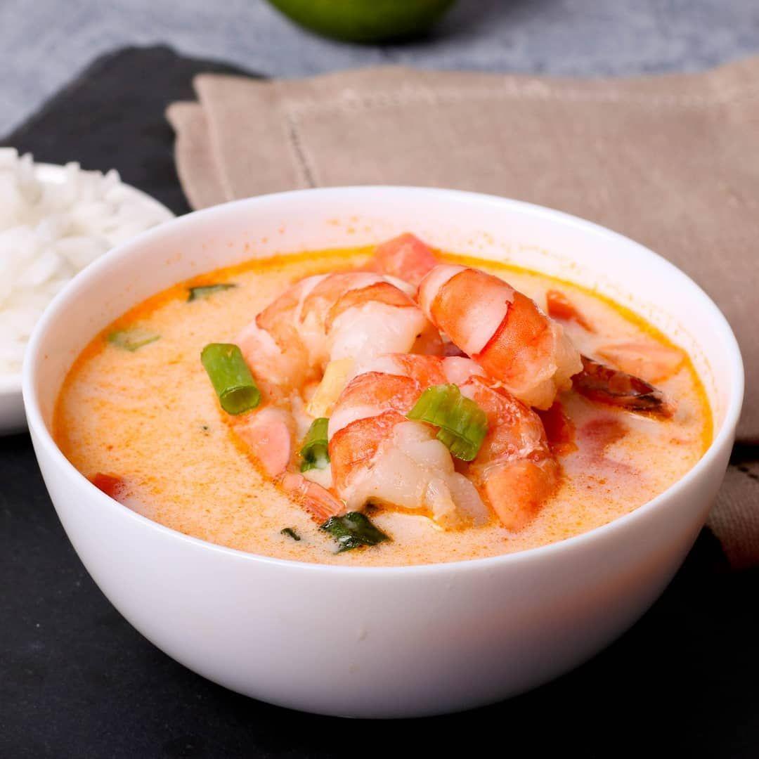 поклонников суп из креветок рецепт с фото очень грудку нарезать