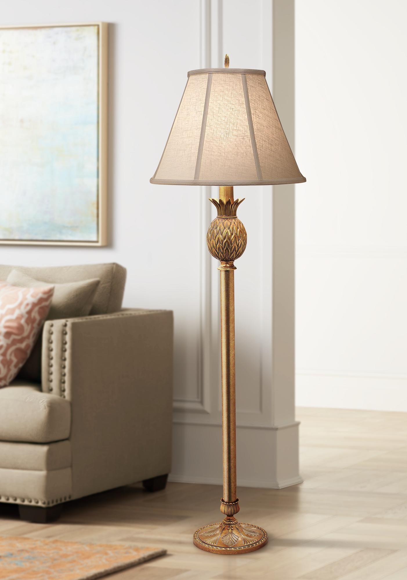 Floor Lamps Stiffel Lanai Polished Honey Brass Floor Lamp In 2020 Brass Floor Lamp Floor Lamp Traditional Floor Lamps