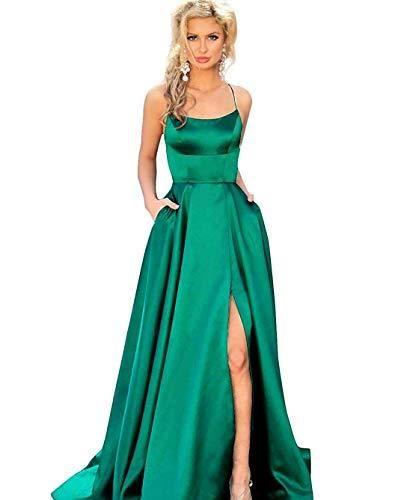prom  2019promdresses  emerald  slit.  prom  2019promdresses  emerald  slit  Prom Dresses With Pockets ab4addc3b