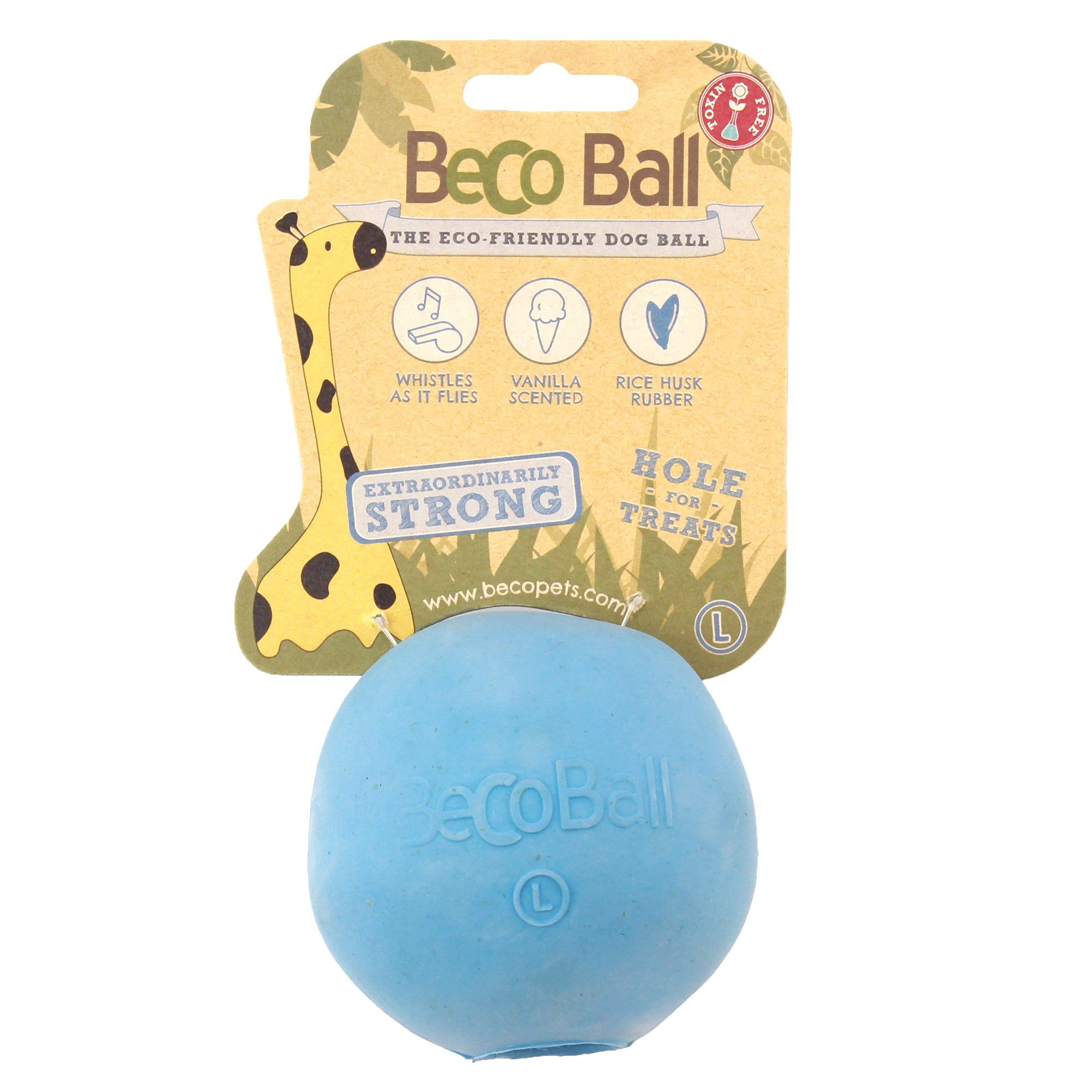 Beco Pet Blue Ball Dog Toy Large In 2019 Products Dog Toys