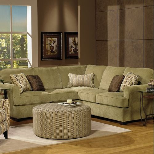 Best Jackson Furniture Kelly Two Piece Sectional Sofa In Herb 400 x 300