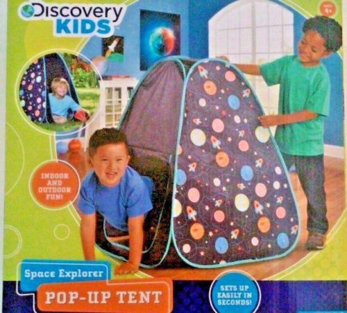 Discovery Kids Space Explorer Pop-up Tent Indoor u0026 Outdoor Fun NIB  sc 1 st  Pinterest & Discovery-Kids-Space-Explorer-Pop-up-Tent $18 | Solar System ...