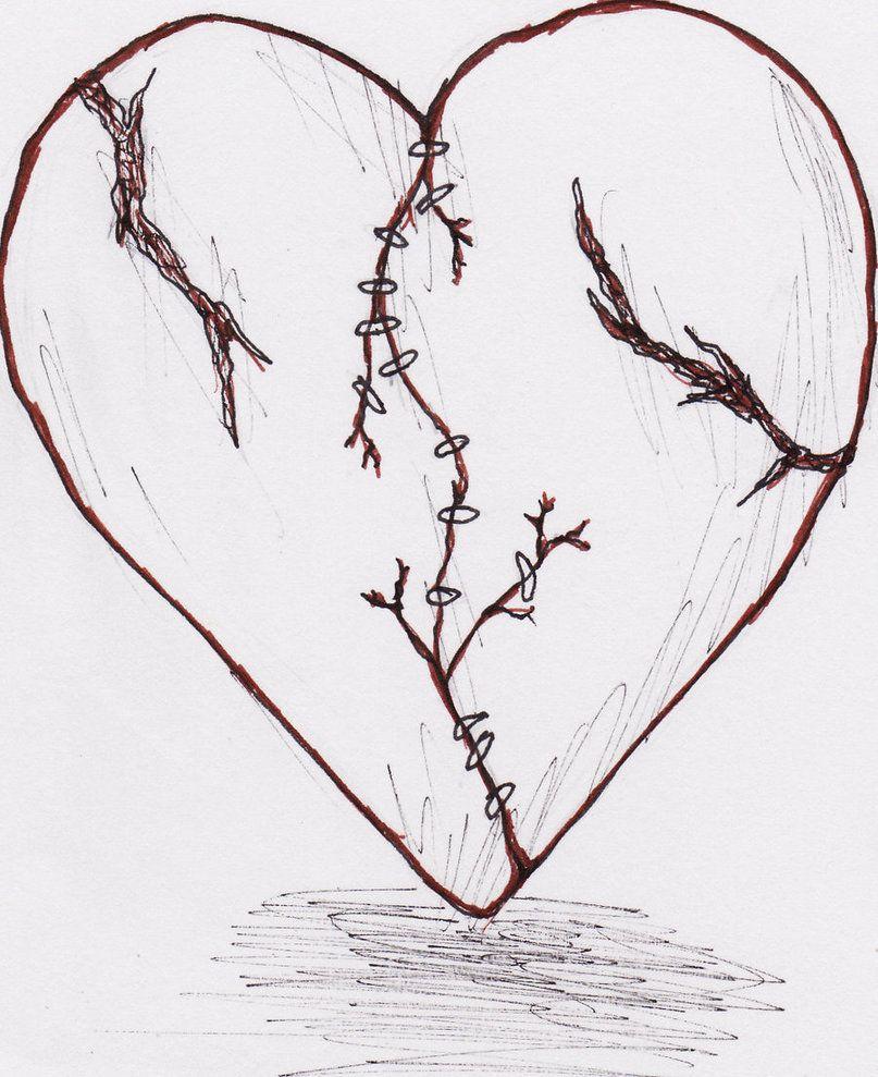 Emo heart drawings broken heart tattoo by weirdanime on emo heart drawings broken heart tattoo by weirdanime on deviantart biocorpaavc Images