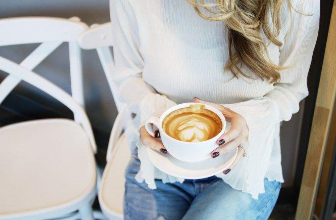 Girl Holding Latte Coffee Latte Houston Coffee Shops Houston Coffee Coffee Shop