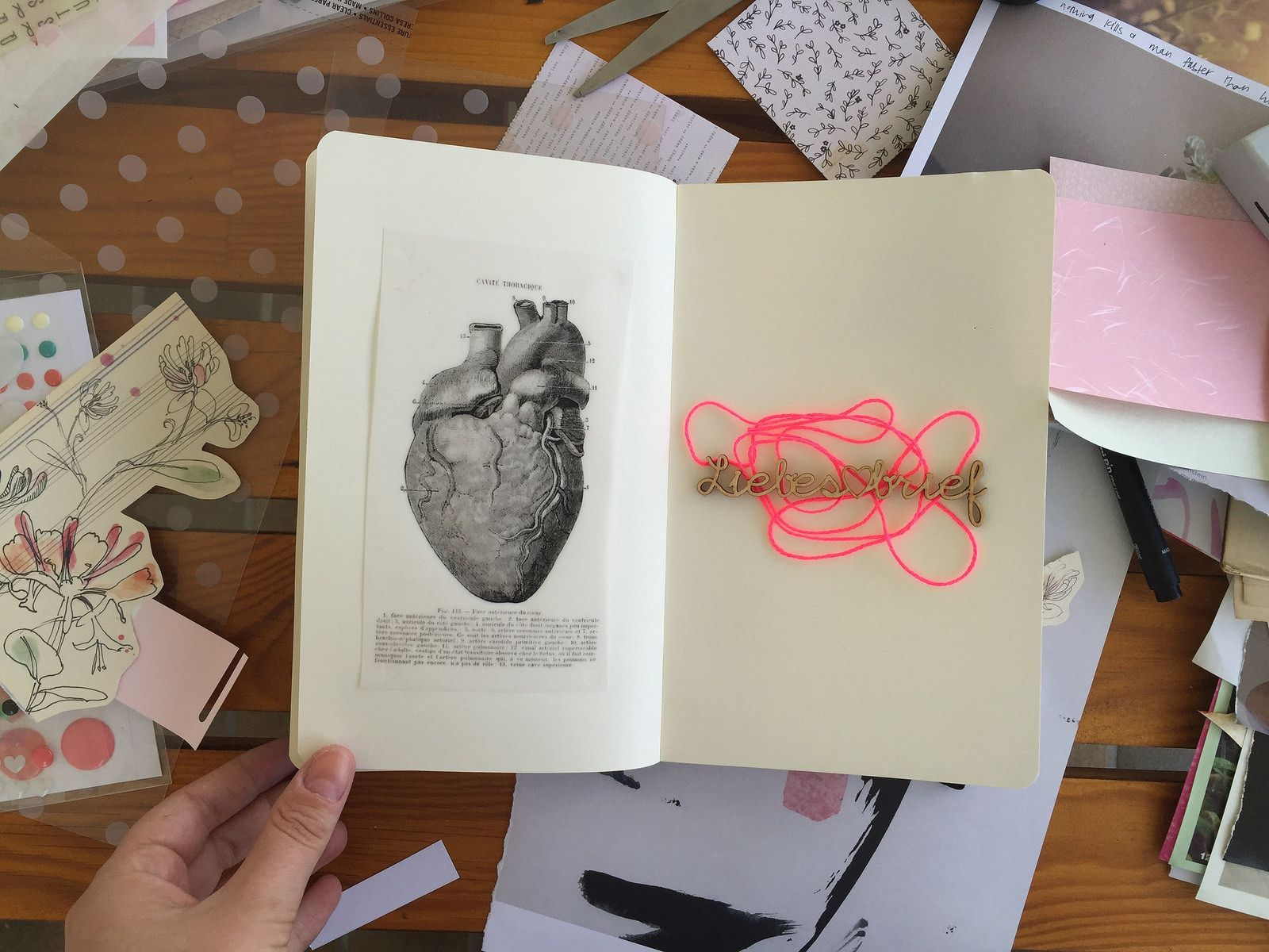@CayleeGrey | Liebesbrief | Creative Team Inspiration | Get Messy Art Journal