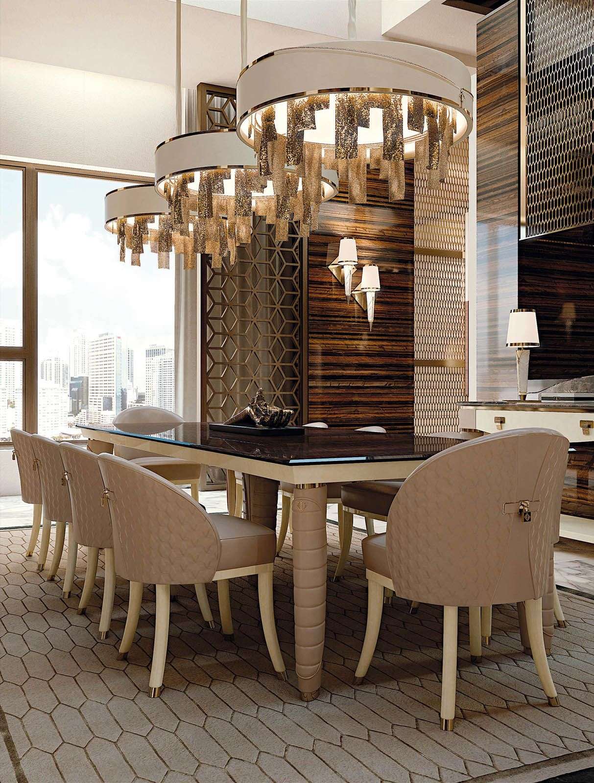 Vogue Collection Www.turri.it Italian Dining Room Furniture