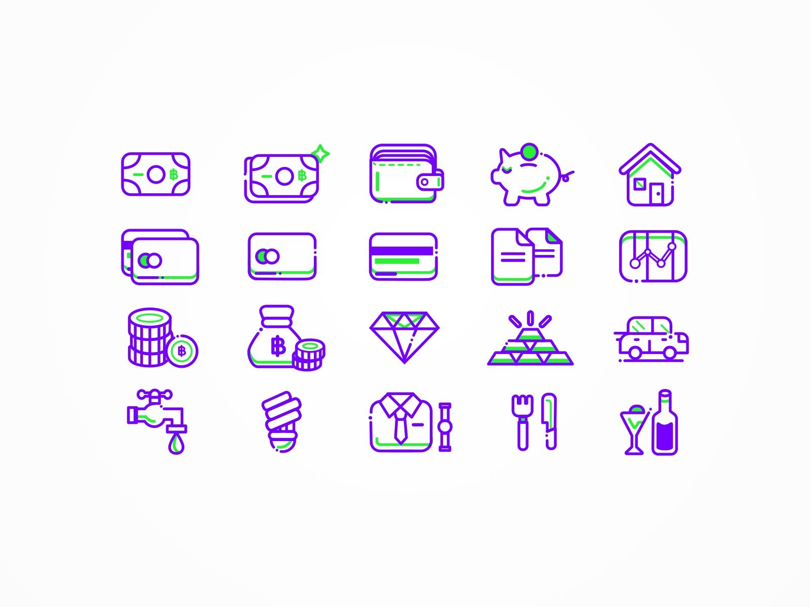 Full Preview Jpg By Worawaluns Finance Icons Free Icon Set Banks Icon