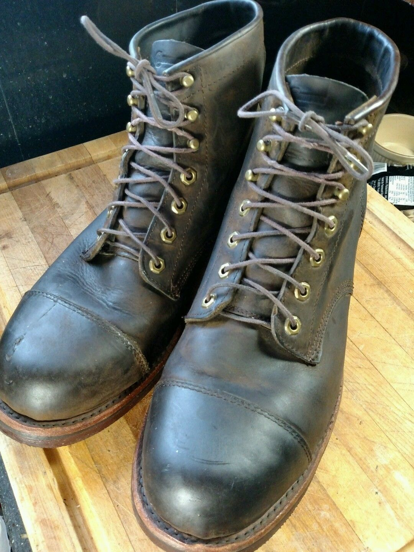 c5ebadfda01 Details about LL BEAN Chippewa Katahdin Iron Works Engineer Boots ...