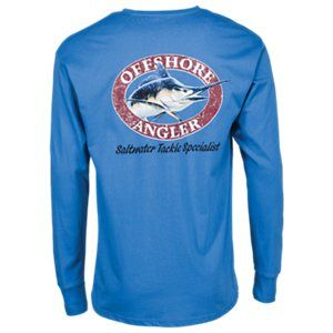 7269c5107ab6 Offshore Angler Logo Pocket T-Shirt for Men | Products | Fishing ...