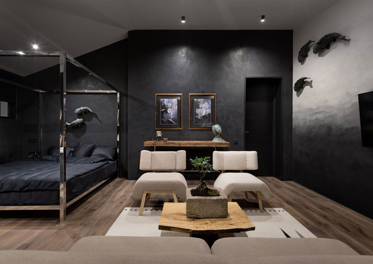 Designed for a family architect Sergey Makhno