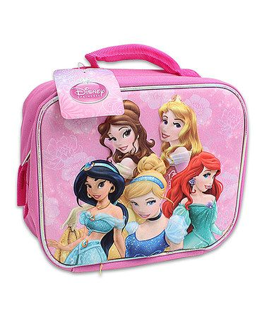 Loving this Pink Princess 3-D Lunch Box on #zulily! #zulilyfinds