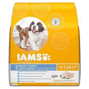 Iams Proactive Health Smart Puppy Large Breed Puppy Food 30 6 Lbs