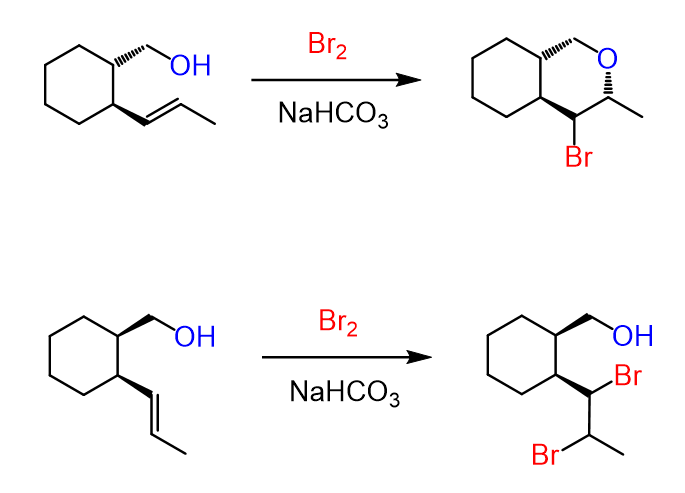 Halogenation of Alkenes and Halohydrin Formation (With