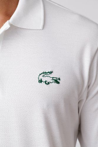 884d637f Lacoste Peter Saville Whimsical #Croc Short Sleeve Pique #Polo ...