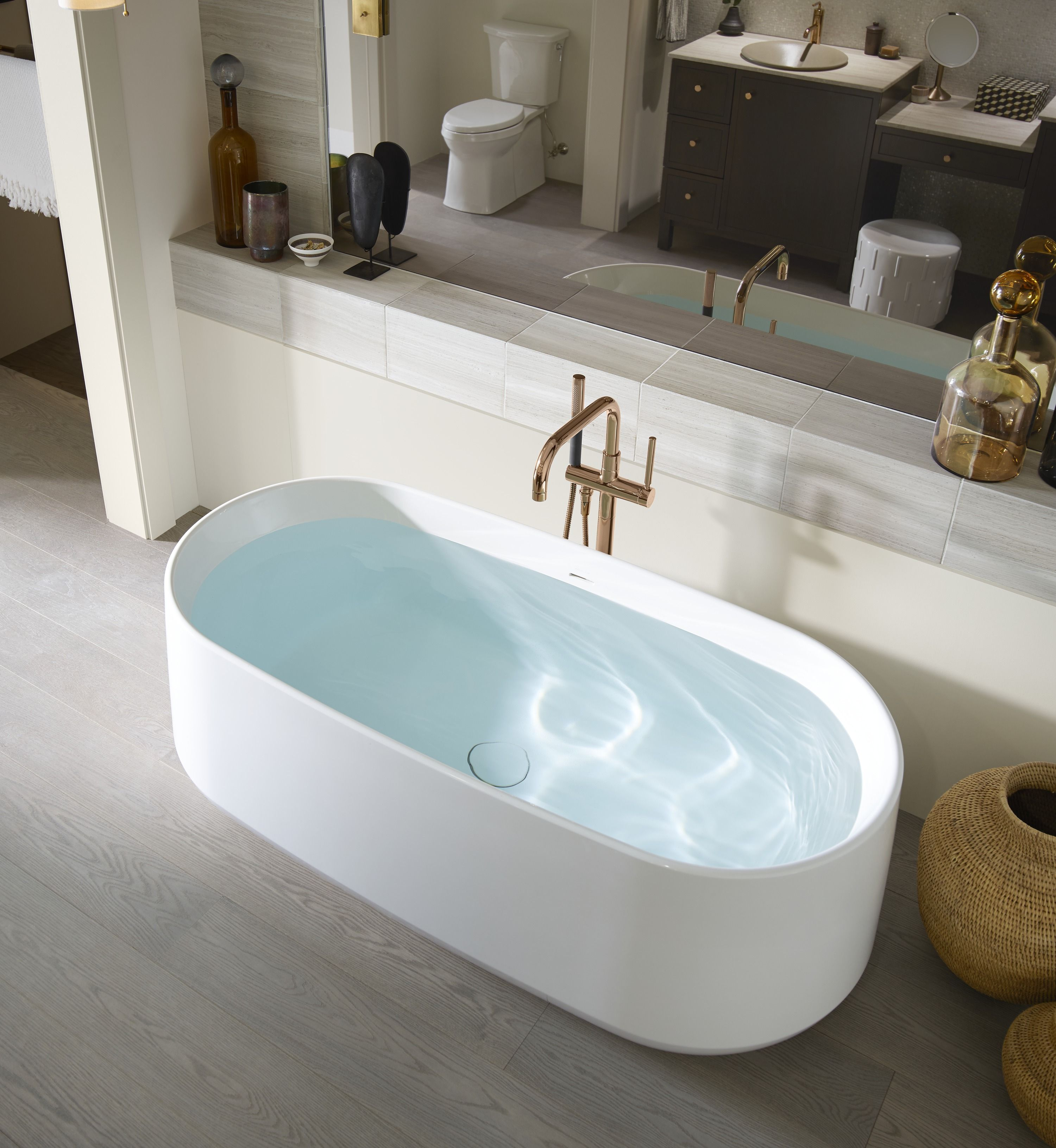 Climb On In And Take A Soak In The Kohler Ceric Freestanding